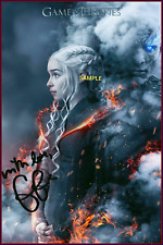 4x6 SIGNED AUTOGRAPH PHOTO REPRINT OF EMILIA CLARKE GAME OF THRONES