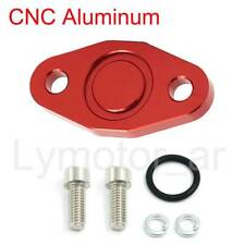 Delete Block Off Plate kit For VW Audi 1.8T SAI Air Injection MK4 Golf B5 B6 Red