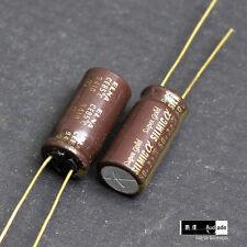 2PCS 2.2uF 50V ELNA SILMIC a Super Gold ARSA for HiEnd audio capacitors Japan