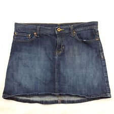 Gap 1969 Womens Size 4 Dark Wash Denim Micro Mini Skirt, Blue