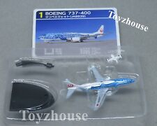 F-Toys Boeing 737-400 JA8939 JAL Japan Transocean Air 1:500 Model New