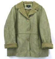 Articwear by Oleg Cassini Women's Size 22W Button Up Jacket Green