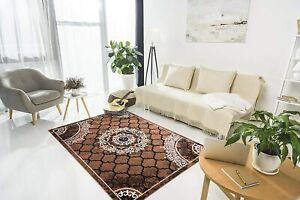 Polypropylene Hand-Tufted Solid Modern Carpet(3 X 5Ft,Golden)For Home Decoration
