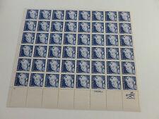 United States Scott 2105 the 20 cent Elanor Roosevelt sheet of 48 Mint