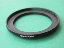 42mm-52mm 42-52 Stepping Step Up Male-Female Filter Ring Adapter 42mm-52mm