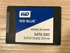 "WD Blue 500GB 2.5"" SSD SATA Solid State Drive - Barely Used"