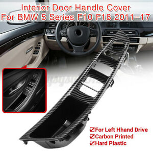 Interior Door Handle Cover  Window Lift Switch Panel For BMW 5 Series F10