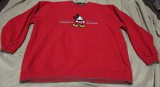 VINTAGE Disney Mickey Mouse Jerry Leigh Mickey & Co. Crewneck Sweatshirt sz Med