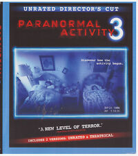 PARANORMAL ACTIVITY 3 (Blu-ray Only, 2012)