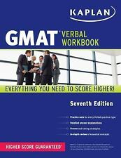FREE 2 DAY SHIPPING: Kaplan GMAT Verbal Workbook (Kaplan Test Prep) by Kaplan (P