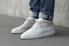 New!! ETQ AMSTERDAM 'Mid Top 1' Sneaker White Leather Quilted 44 EU 11 US $375