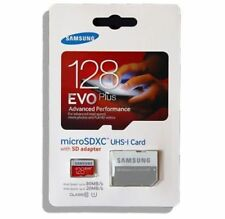 Samsung EVO Plus 128GB MicroSDXC UHS-I Class 10 Memory Card With Adapter USA