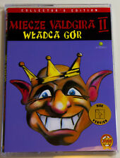 MIECZE VALDGIRA II for Atari XL/XE, LK AVALON, Collector's Disk ver., brand new