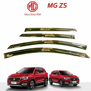 MG ZS, MG ZST, MG ZSEV Genuine Window Deflector - Black With Logo