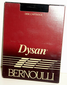 "Tested Good Dysan Bernoulli 10 MB 8"" Flexible Cartridge Disk -- RARE"