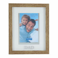 "Juliana Dad Natural Wood Effect Photo Frame Suits 4"" x 6"" Photos"