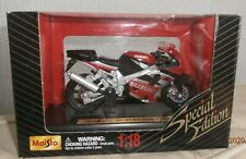 MAISTO SPECIAL EDITION 1 : 18 Scale SUZUKI GSX R1000 BOXED