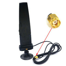 18dbi 5.8ghz 2.4Ghz Antenne RP-SMA male Plug Dual-band Booster Router Omni