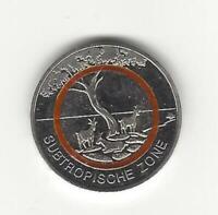 "Euro Subtropische Zone 2018 Commemorative Coin "" J "" Oranger Polymer Ring"