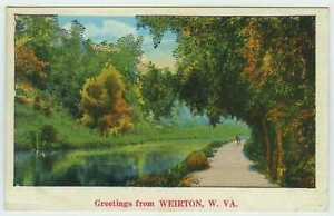 Weirton, West Virginia, 1930-40s; Greetings, Quality Colored Landscape Locals