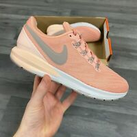 5NIKE AIR ZOOM STRUCTURE 22 CORAL WOMENS RUNNING UK4.5 US7 EU38 AA1640-601