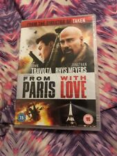 From Paris With Love (DVD, 2010)- REGION 2- NEW AND SEALED