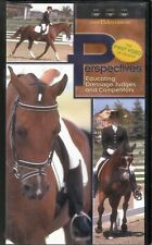Perspectives: Educating Dressage Judges & Competitors NSDF VHS 1999 Horses Video