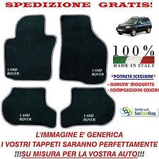 Tappeti Land Rover Freelander 1 '02-'06 Tappetini Personalizzabili, Vari Colori