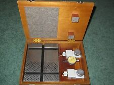 Exc. Taylor-Hobson Portable Inspection Table w/ Metric Indicator layout 112/1646