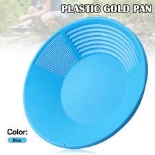Plastic Gold Pan Nugget Mining Dredging Prospecting River Panning Basin Tool