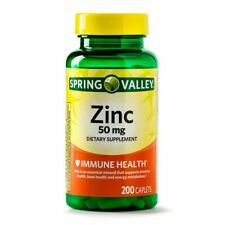 Spring Valley Zinc 50mg Capsule - 200 Count