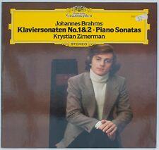 Brahms, Klaviersonate Nr.1 und 2, Krystian Zimerman [DGG 2531 252]