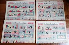 4 1932 16 Page Comic Sections Des Moines Sunday Register TARZAN BUCK ROGERS