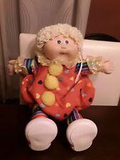 Vintage Clown Cabbage Patch Kid Clown Doll Blonde Hair 1986