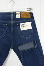 Stonewashed Regular High Tapered Jeans for Men