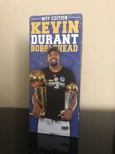 GS Warriors 2017 Kevin Durant Finals MVP EDITION SGA BOBBLEHEAD bobble 10/13 NIB