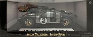 Diecast 1:18 Ford Shelby 1966 GT 40 Mk II (Black) #2