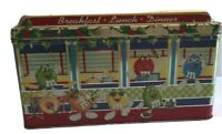 M&M's Diner #4 Limited Edition 1996 Canister...Christmas Village...RARE...