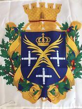 drapeau Armoiries De Saint Etienne 60x60cm Forez Asse Flag