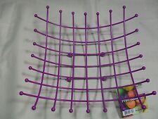Decorative Fruit Basket Display Bowl ~ Purple