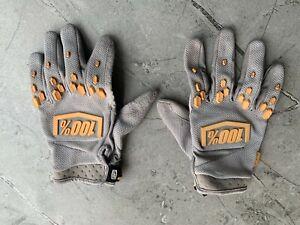 100% MTB / DH Gloves Grey XL