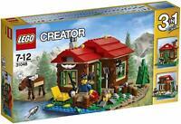 LEGO 31048 CREATOR Baita sul Lago 3 in 1 - ►NEW◄ PERFECT NEVER REMOVED