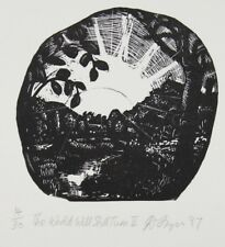 David FRAZER original signed limited edition detailed etching, Australia Art