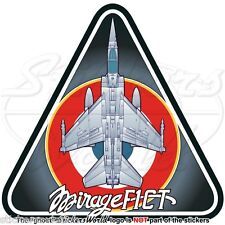 MIRAGE F1 FRANCE Dassault Aviation F1CT French Air Force Aircraft Sticker, Decal
