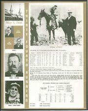 1908 - STONE STREET - Kentucky Derby WC, Race Chart, Jockey, Trainer & Owner