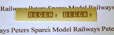 WRENN3 Decca Wagon Decal OO Gauge