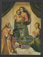 Korea - 1983, Anniversary of Raphael (Painter) sheet - F/U - SG MSN2292