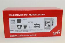 Herpa 084673 Fahrerhaus Scania CS HD o. Windleitblech und Chassisverkleidung NEU