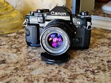 Canon A-1 35mm SLR Film Camera with Canon FD 50mm f1:1.8 Lens