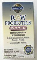 Garden of Life Raw Probiotics Women Vegetarian Fresh 90 Capsules 05/2020+